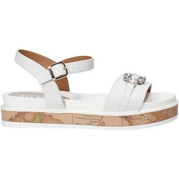 Pantofi Fete Sandale  Alviero Martini 0575 0326 Alb