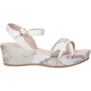Pantofi Fete Sandale  Alviero Martini 0641 0910 Alb