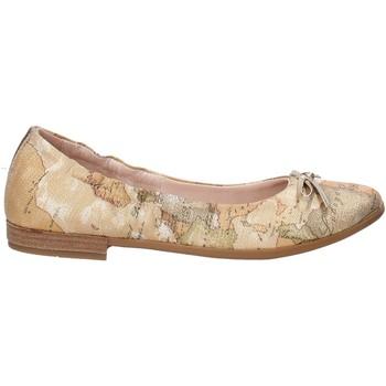 Pantofi Fete Balerin și Balerini cu curea Alviero Martini 0600 0893 Maro
