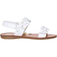 Pantofi Fete Sandale  Naturino 502338 01 Alb