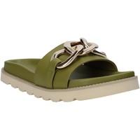 Pantofi Femei Papuci de vară Grace Shoes 021004 Verde