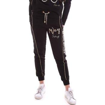 Îmbracaminte Femei Pantaloni de trening Cristinaeffe 4962 Negru