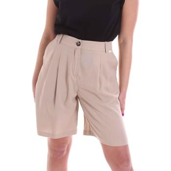 Îmbracaminte Femei Pantaloni scurti și Bermuda Café Noir JP6030 Bej