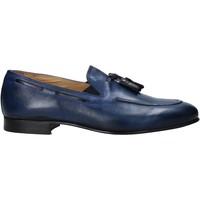 Pantofi Bărbați Mocasini Exton 1026 Albastru