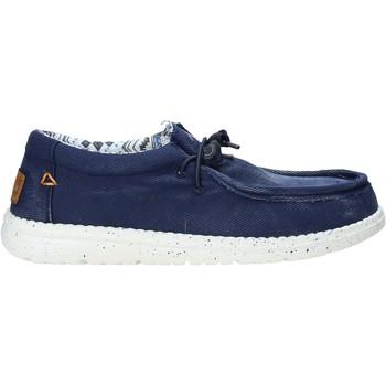Pantofi Bărbați Mocasini U.s. Golf S21-S00US322 Albastru