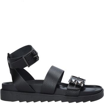 Pantofi Femei Sandale  Apepazza S1SOFTWLK05/LEA Negru