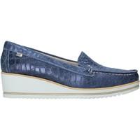 Pantofi Femei Mocasini Valleverde 11451 Albastru