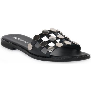 Pantofi Femei Papuci de vară Mosaic NERO 500 Nero
