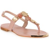 Pantofi Femei Sandale  Mosaic NUDE 1420 Rosa