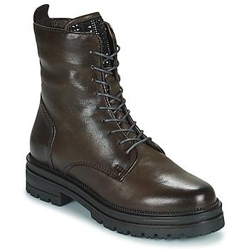 Pantofi Femei Ghete Mjus DOBLE LACE Gri / Culoare închisă