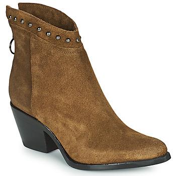 Pantofi Femei Botine Mjus TEP Taupe