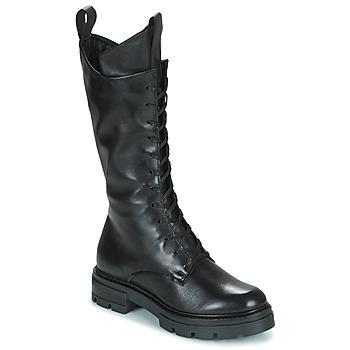 Pantofi Femei Cizme casual Mjus BEATRIX HIGH Negru