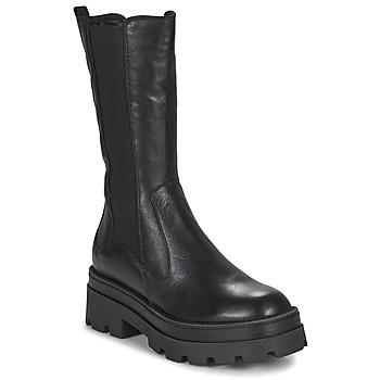 Pantofi Femei Cizme casual Mjus LATERAL Negru