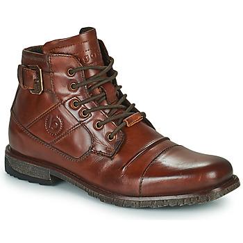 Pantofi Bărbați Ghete Bugatti SATURINO Maro