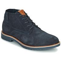 Pantofi Bărbați Ghete Bugatti PLUTONO Albastru