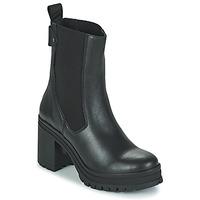 Pantofi Femei Botine Palladium Manufacture MONA 02 NAP Negru