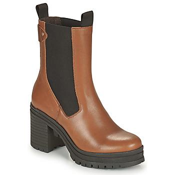 Pantofi Femei Botine Palladium Manufacture MONA 02 NAP Maro