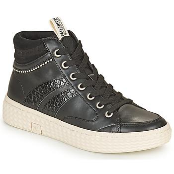 Pantofi Femei Pantofi sport stil gheata Palladium Manufacture TEMPO 03 SYN Negru