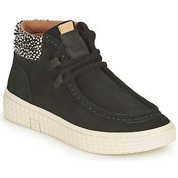 Pantofi Femei Pantofi sport stil gheata Palladium Manufacture TEMPO 10 SUD Negru