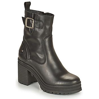 Pantofi Femei Botine Palladium Manufacture MONA 01 NAP Negru