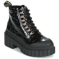 Pantofi Femei Ghete No Name KROSS LOW BOOTS Negru