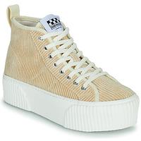 Pantofi Femei Pantofi sport stil gheata No Name IRON MID Bej
