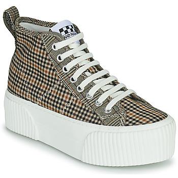 Pantofi Femei Pantofi sport stil gheata No Name IRON MID Maro