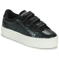 Pantofi Femei Pantofi sport Casual No Name PLATO M STRAPS Negru