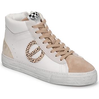 Pantofi Femei Pantofi sport stil gheata No Name STRIKE MID CUT Alb