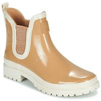 Pantofi Femei Cizme de cauciuc Armistice DROP BEETLE W Bej