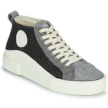 Pantofi Femei Pantofi sport stil gheata Armistice FOXY MID LACE W Negru