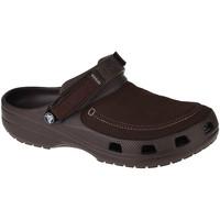 Pantofi Bărbați Saboti Crocs Classic Yukon Vista II Clog Marron