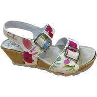 Pantofi Femei Sandale  Mephisto MEPHALYCEfiori bianco