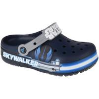 Pantofi Copii Saboti Crocs Fun Lab Luke Skywalker Lights K Clog Bleu marine