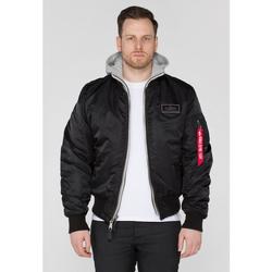 Îmbracaminte Bărbați Bluze îmbrăcăminte sport  Alpha Veste  MA-1 D-Tec noir