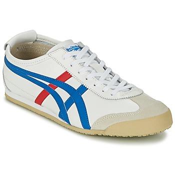 Pantofi Pantofi sport Casual Onitsuka Tiger MEXICO 66 Alb / Albastru / Roșu