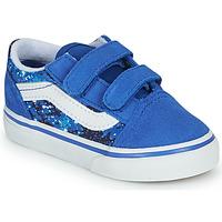 Pantofi Băieți Pantofi sport Casual Vans OLD SKOOL Albastru