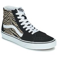 Pantofi Femei Pantofi sport stil gheata Vans SK8-HI Negru / Safari