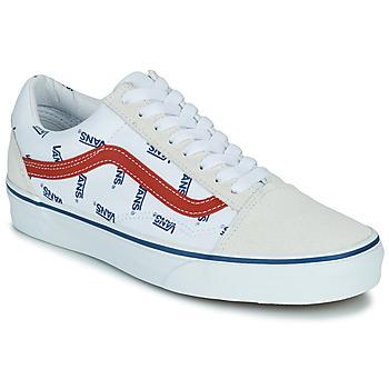Pantofi Pantofi sport Casual Vans OLD SKOOL Alb / Albastru