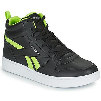 Pantofi Copii Pantofi sport stil gheata Reebok Classic REEBOK ROYAL PRIME Negru / Galben