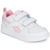 Pantofi Fete Pantofi sport Casual Reebok Classic REEBOK ROYAL PRIME Alb / Roz
