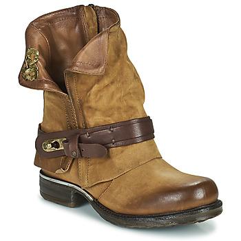 Pantofi Femei Ghete Airstep / A.S.98 SAINT BIKE Camel