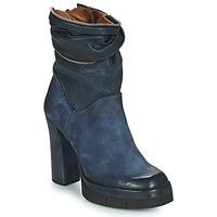 Pantofi Femei Botine Airstep / A.S.98 BLOC ZIP Albastru