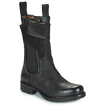 Pantofi Femei Ghete Airstep / A.S.98 SAINTEC CHELS Negru