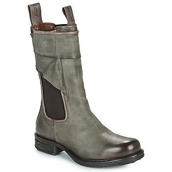 Pantofi Femei Ghete Airstep / A.S.98 SAINTEC CHELS Gri