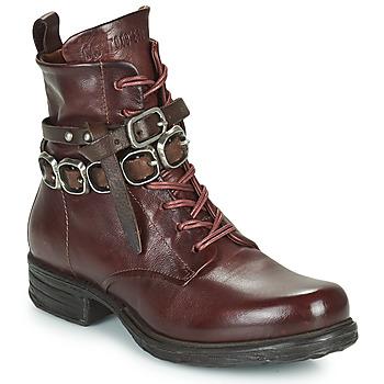 Pantofi Femei Ghete Airstep / A.S.98 SAINTEC BRIDE Bordo