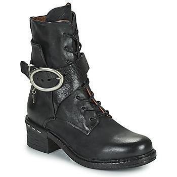 Pantofi Femei Botine Airstep / A.S.98 NOVASUPER LACE Negru