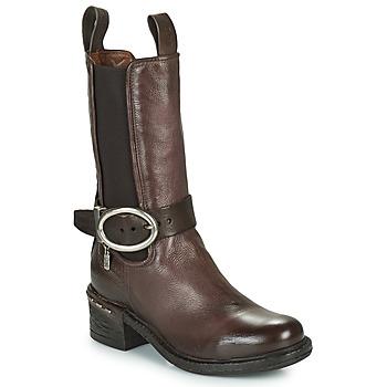 Pantofi Femei Botine Airstep / A.S.98 NOVASUPER CHELS Maro
