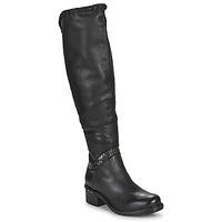Pantofi Femei Cizme lungi peste genunchi Airstep / A.S.98 NOVASUPER HIGH Negru