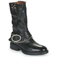 Pantofi Femei Ghete Airstep / A.S.98 FLOWER BIKE Negru